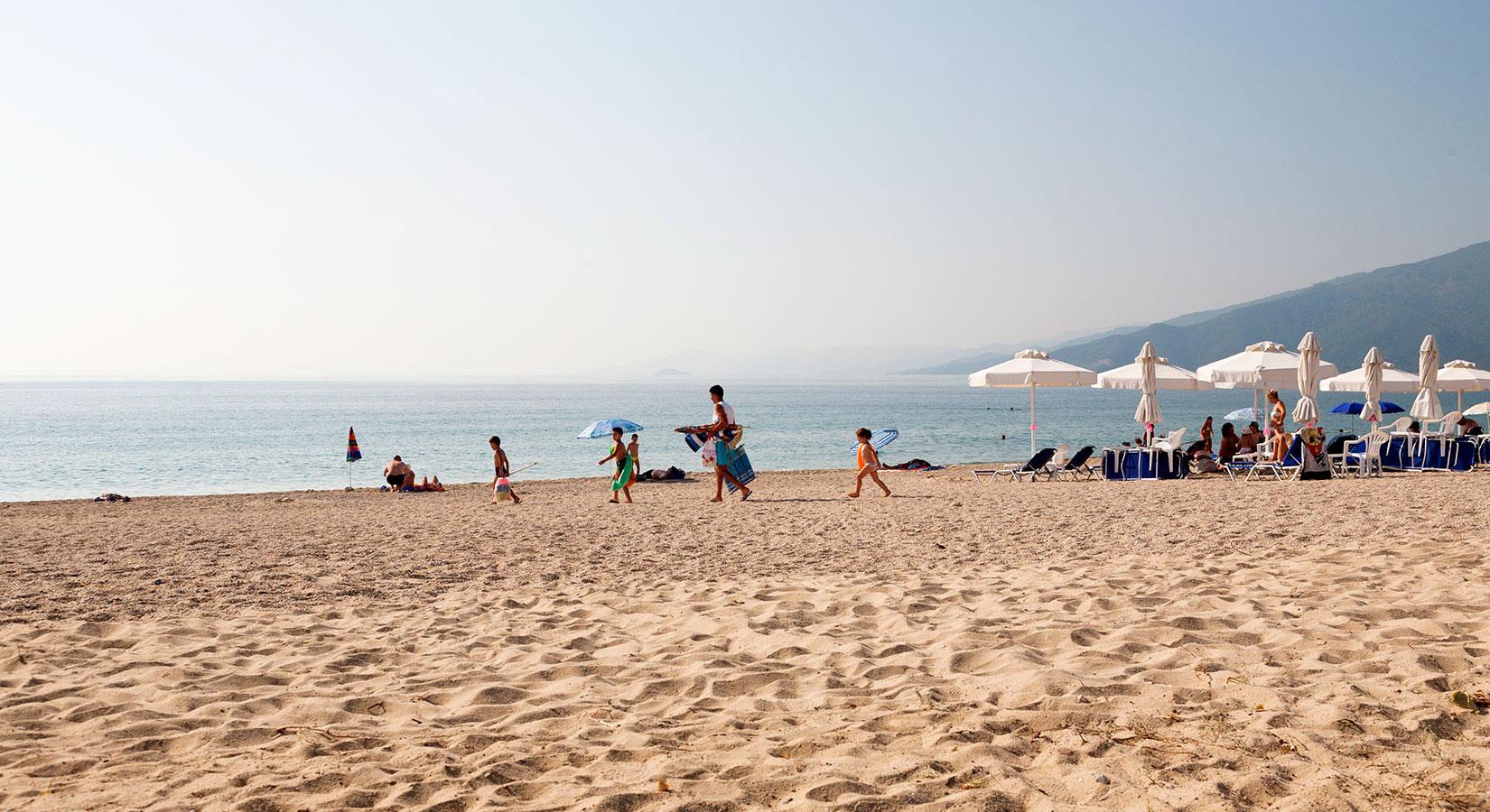 Asprovalta beach | Troia Resort studios to rent next to the sea coast of Asprovalta 1 of 20